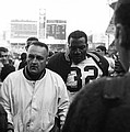 Jim Brown The Great Leaving The Field by Retro Images Archive