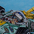 Jim Clark Indy 500 by Juan Mendez