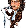 Jim Morrison by Art