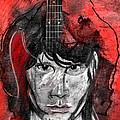 Jim Morrison by Carol Cavalaris