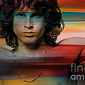 Jim Morrison The Doors by Marvin Blaine