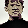 Jim Thorpe Poster Art by Florian Rodarte