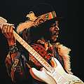 Jimi Hendrix 3 by Paul Meijering