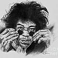 Jimi Hendrix by Art Imago