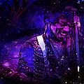 Jimi Hendrix by D Walton