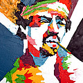 Jimi Hendrix by Edgar Rafael