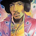 Jimi Hendrix Eyes by Joshua Morton
