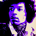 Jimi Hendrix by Michelle Dallocchio