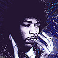 Jimi Hendrix Purple Haze  by Tony Rubino
