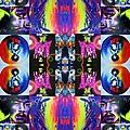 Jimi Kaleidoscope I by Christian Chapman Art