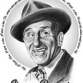 Jimmy Durante by Greg Joens
