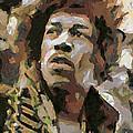 Jimmy Hendrix by Dragica  Micki Fortuna