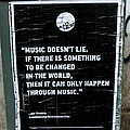 Jimy Hendrix Music Doesn't Lie by Georgina Noronha