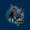 Jla - Batman Collage by Brand A