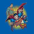 Jla - Superman Collage by Brand A