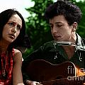 Joan Baez With Bob Dylan by Celestial Images