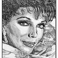 Joan Collins In 1985 by J McCombie