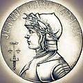 Joan Of Arc - Original by Fred Larucci
