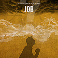 Job Books Of The Bible Series Old Testament Minimal Poster Art Number 18 by Design Turnpike