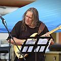 Jocelyn Godfrey Guitarist 1 by Dennis James