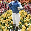 Jockey Garden Statue by Photographic Art by Russel Ray Photos