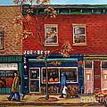 Joe Beef Restaurant Montreal by Carole Spandau