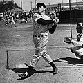 Joe Dimaggio Hits A Belter by Gianfranco Weiss