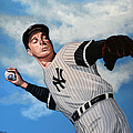 Joe Dimaggio by Paul Meijering