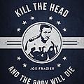 Joe Frazier - Navy Blue by Aged Pixel