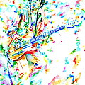 Joe Strummer Playing Live by Fabrizio Cassetta