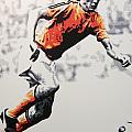 Johan Cruyff - Holland by Geo Thomson