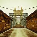 John A. Roebling Bridge by Scott Meyer