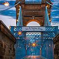 John A. Roebling Suspension Bridge by Inge Johnsson