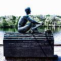 John B Kelly Statue Philadelphia by Bill Cannon