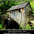 John Cable Grist Mill - Poster by Stephen Stookey
