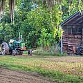 John Deere - Old Tractor Shed by Scott Hansen