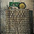 John Deere Parking Only by Paul Freidlund
