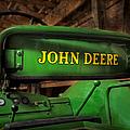 John Deere Tractor by Susan Candelario