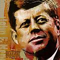 John F. Kennedy by Corporate Art Task Force