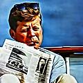 John F Kennedy by Florian Rodarte
