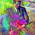John Fitzgerald Kennedy Jfk In Abstract 20130610 by Wingsdomain Art and Photography