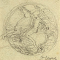 John Flaxman, British 1755-1826, Design For A Medal by Litz Collection