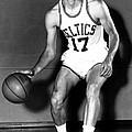 John Havlicek Of The Boston Celtics 1960s by Mountain Dreams