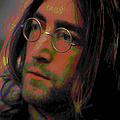John Lennon 2 by Fli Art