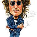 John Lennon by Art