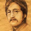 John Lennon by Jaroslaw Blaminsky