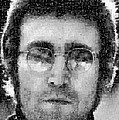 John Lennon Mosaic Image 16 by Steve Kearns