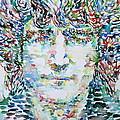John Lennon Portrait.1 by Fabrizio Cassetta
