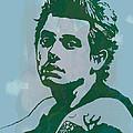 John Mayer - Pop Stylised Art Sketch Poster by Kim Wang