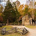 John Oliver Pioneer Cabin by John Haldane